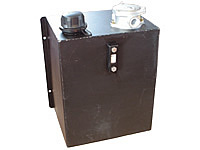 Steel liquid tanks for mobile systems