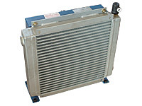 Oil-Air Heat Exchanger with temperature switch, 80 l/min, Type 2015