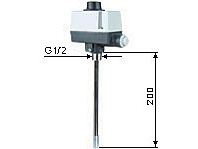Temperature switch with thermowell