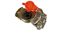 Coupling for trailers DIN 74342, red (Supply line)