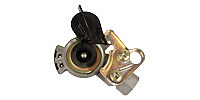 Coupling for trailers, black