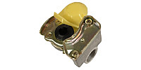 Coupling for tractor unit DIN 74254, yellow (Brake line)