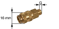Coupling sleeve for Mini coupling (Type 21)