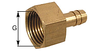 threaded nozzle with female thread