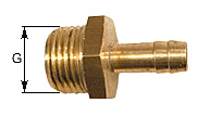 threaded nozzle with Male thread