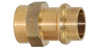 Bronze pressfitting, Coupler