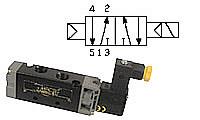 5/2-way-solenoid valve