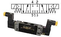 5/3-way-solenoid valve