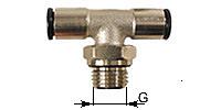 T-Screw-in coupling, adjustable