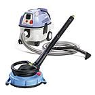 Floor and vacuum cleaner
