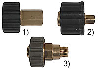 Manual screw coupling