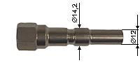 Stainless Steel-Long Nipple
