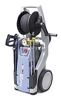 Kränzle 175 TS T-with hose reel and dirtkiller