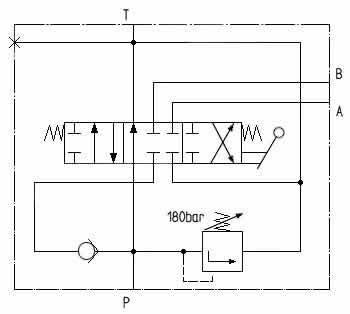 Circuit diagram BU-1DFF.