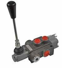 Double-acting monoblock valve