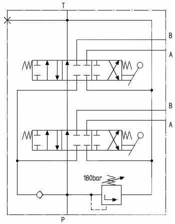 Circuit diagram BU-2DFF.