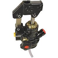 Hydraulic hand pump, single-acting