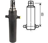 Telescopic cylinders (suspension B)