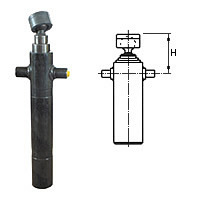 Telescopic cylinders (suspension H)