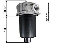 Return line filters, 240 l/min
