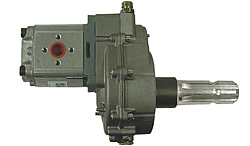 Gear pump with PTO shaft