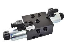 8/3-Directional valve, M18x1,5, 60 l/min