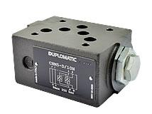 Hydr. unlockable non return valve