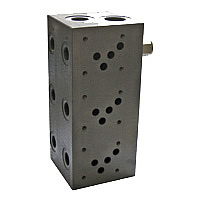 Multiple mounting plate with pressure relief valve