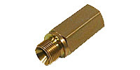 Hose/Pipe-break Protection, female and male thread