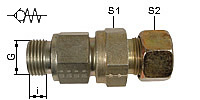 Screwable Non Return Valve, Type RHV
