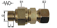 Screwable Non Return Valve, Type RHZ