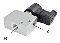 2/2-Way-Seat Valves, Nominal Size 6 (Type 1)