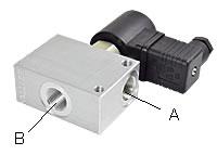 2/2-Way-Seat Valves, Nominal Size 10 (Type 1)