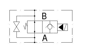 circuit diagram VE-2/2-G3/8-AO.