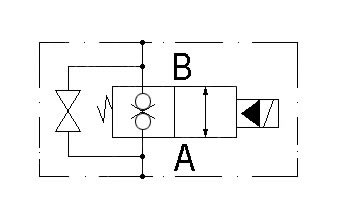 circuit diagram VE-2/2-G3/8-NC.