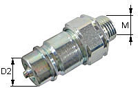Quick release coupling Type: HK-A / Male tip