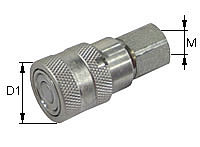 Quick release coupling Type: HK-F / Female body