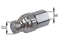 Quick release coupling Type: HK-F / Male tip