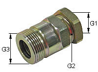 Screw-on coupling Type: HK-L / Female body