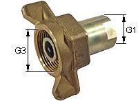 Screw-on coupling Type: HK-L / Male tip