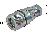 Screw-on coupling Type: HK-S / Female body