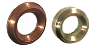 Pressure gauge-profile seal