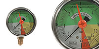 spray agents-Pressure gauge Ø 63 mm