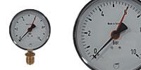 Pressure gauge Ø 100 mm