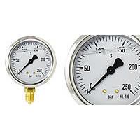 Glycerine Pressure gauge Ø 63 mm