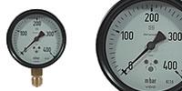 diaphragm capsules-Pressure gauge Ø 100 mm