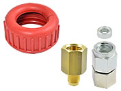 Pressure gauge couplings