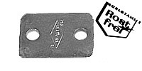 cover plate made of stainless steel for Pipe Clamp, Version A, Stainless steel