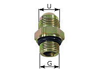 Male Stud Coupling Type GE