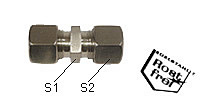 Straight coupling Type G